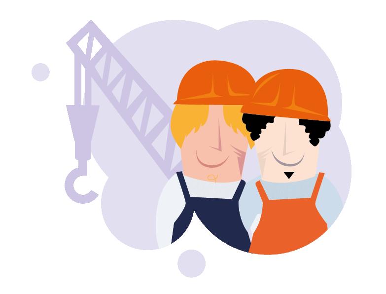 Samen werken aan een veilige bouwplaats